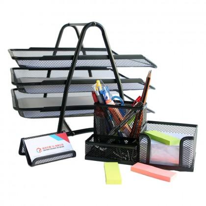 5 Star Stylist Office/Home Mesh Stationery Set