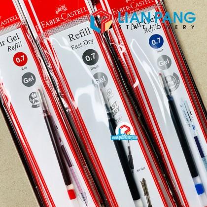 Faber-Castell Fast Dry Air Gel Retractable Pen 2 Sizes & 3 Colours