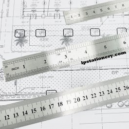 Standard Steel Ruler Metal Ruler 30cm