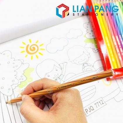Staedtler Luna 12 Water Colour Pencil (Long Type)+Brush+Sharpener