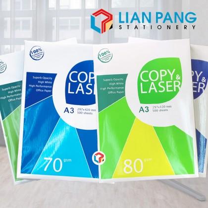 A3 Paper Copy Laser 70gsm/80gsm