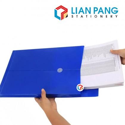 A4 Envelope File Folder String and Button Document Envelope Colour