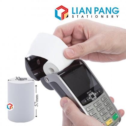 10pcs x Thermal Paper Roll Credit Card Receipt 57x40x12mm