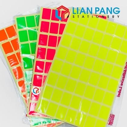 Sticker Label Rectangular 16x22mm