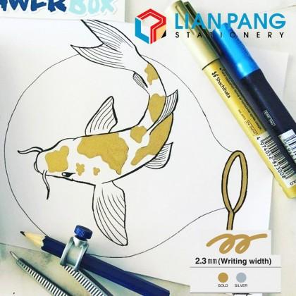 M&G Metallic Ink Paint Marker Pen Gold/Silver