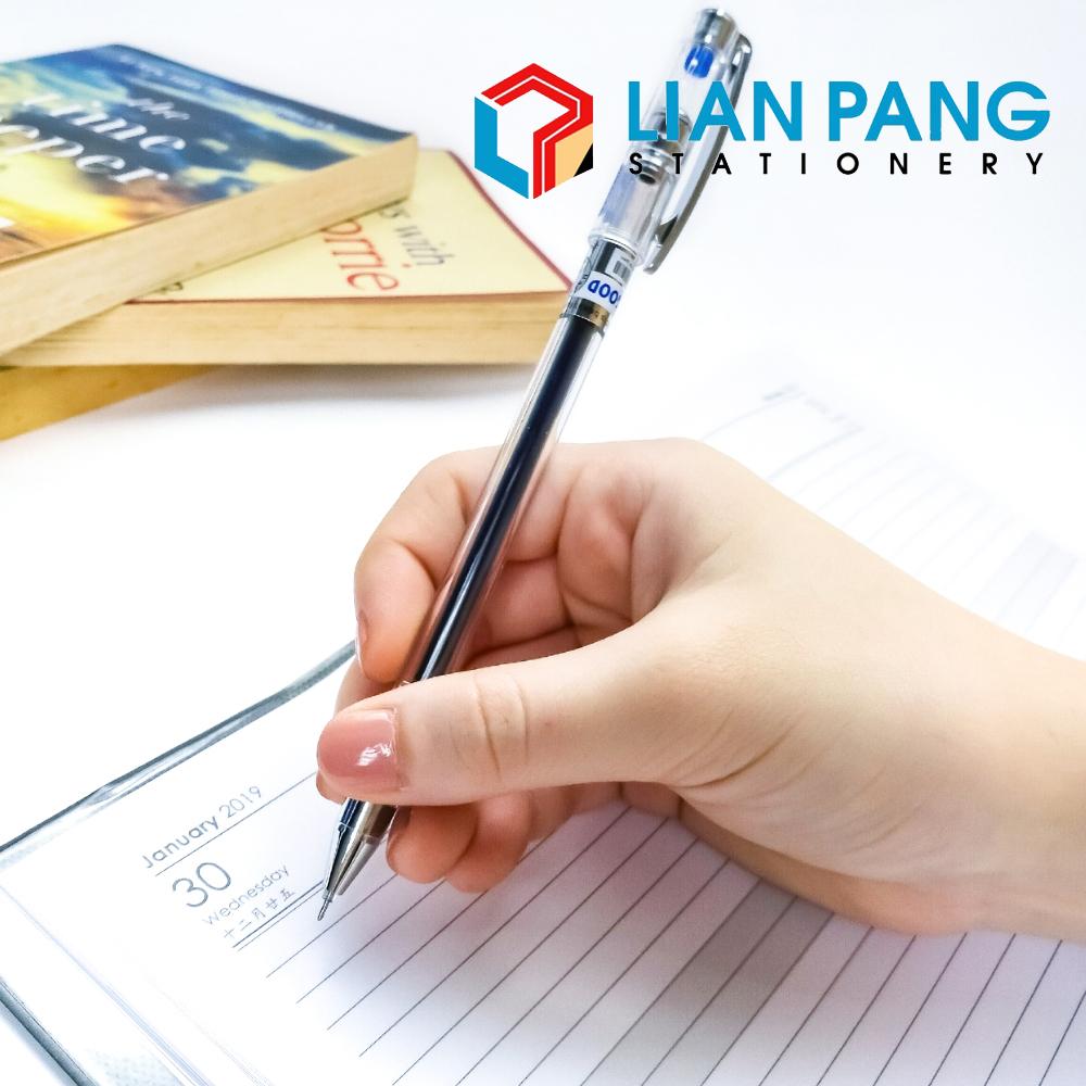 Test Good Gel Ink Pen Zhi Xin 0.5mm Black/Blue/Red Pen