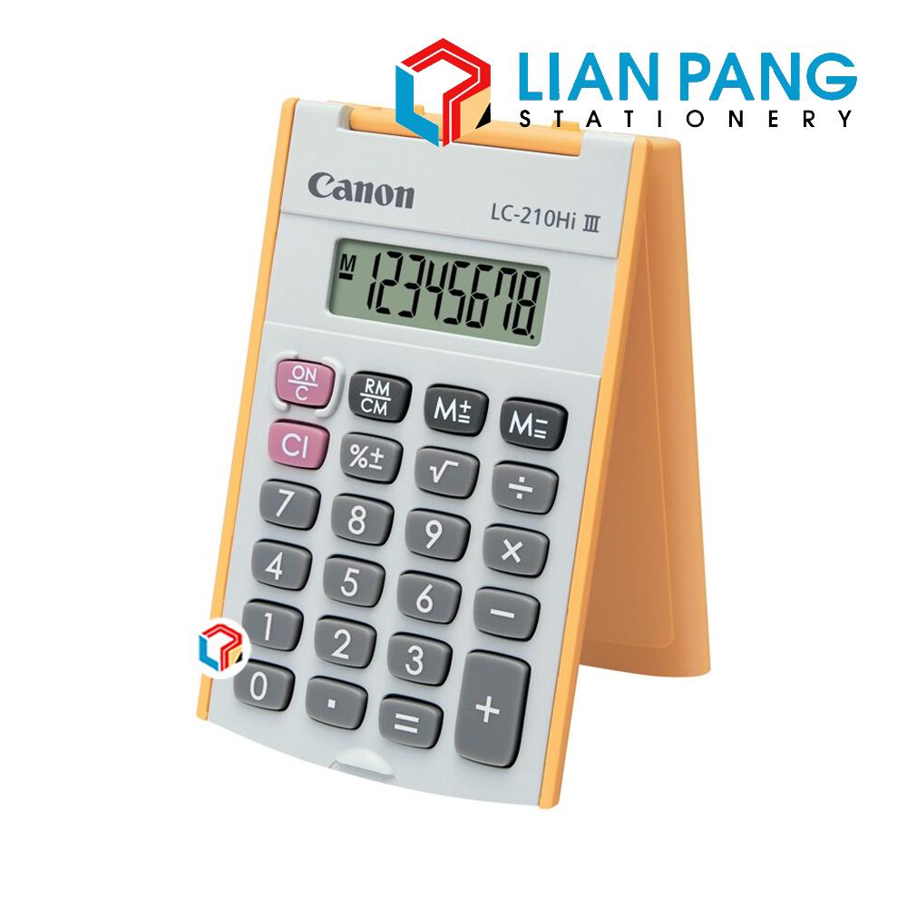 Canon Calculator LC-210Hi III 8 Digits Pocket Size